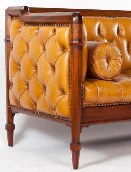541: Edwardian Style Chesterfield Sofa - 4