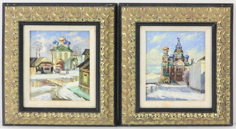 11: Pair of Russian Paintings