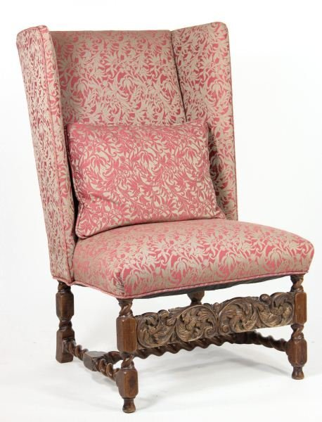 20: Jacobean Revival Wing Chair