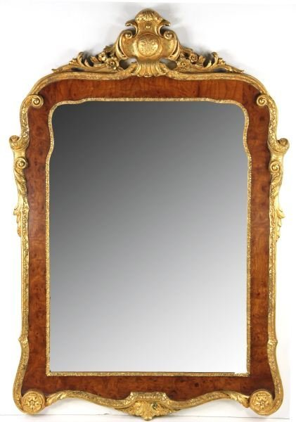 52: George II Style Looking Glass