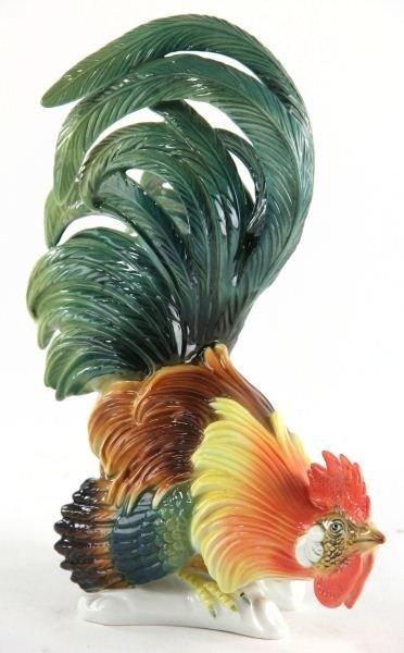 58: Karl Ens Porcelain Rooster