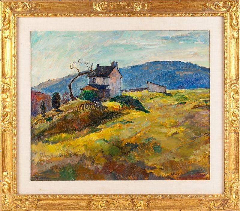 72: Sarah Blakeslee (NC/PA, 1912-2005), Landscape
