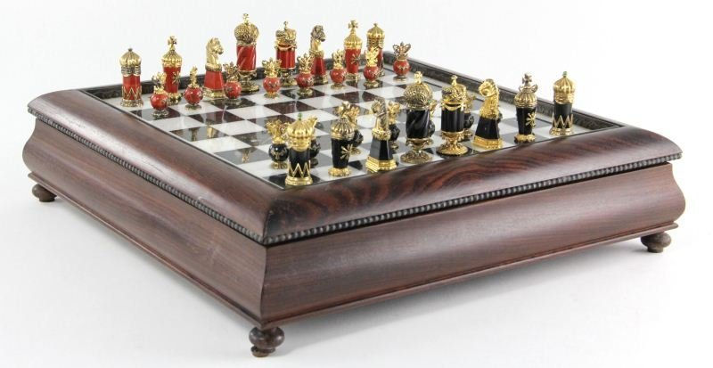 468: The Faberge Imperial Chess Set