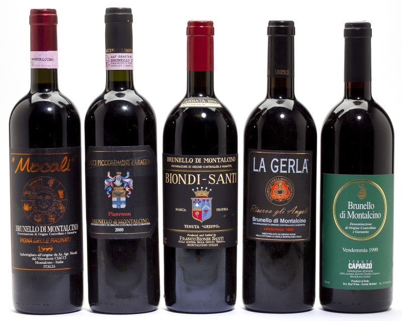 2001, 2000 & 1999 Brunello di Montalcino