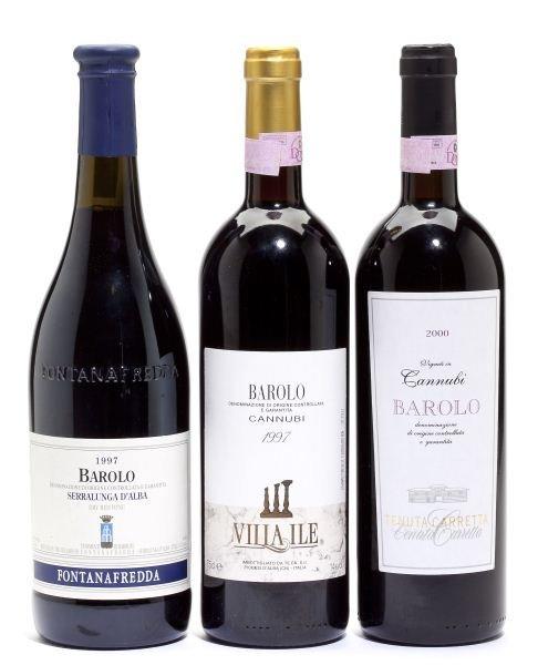 2000 & 1997 Barolo
