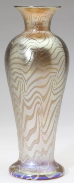 "Durand ""King Tut"" Art Glass Vase"