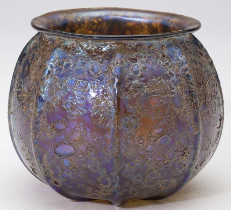 Tiffany Lava Cabinet Vase