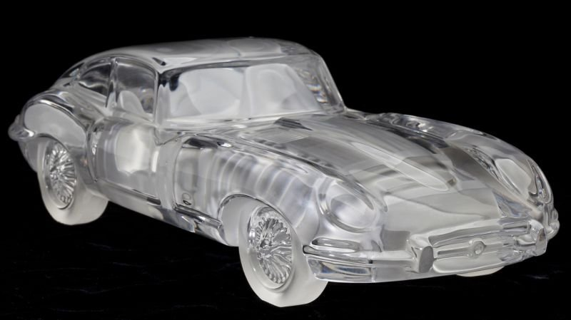 Daum Crystal Car - Jaguar Type E