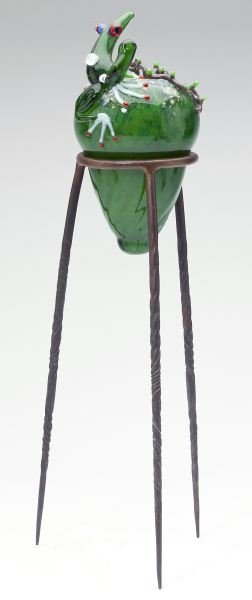 John Nygren (NC), Three Glass Sculptures - 2