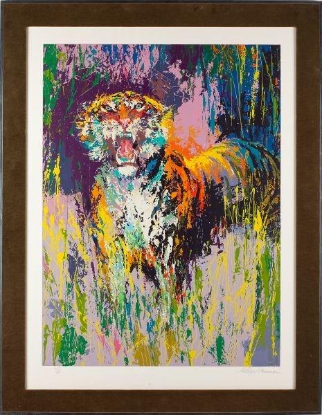"Leroy Neiman, ""Bengal Tiger"" 1973"