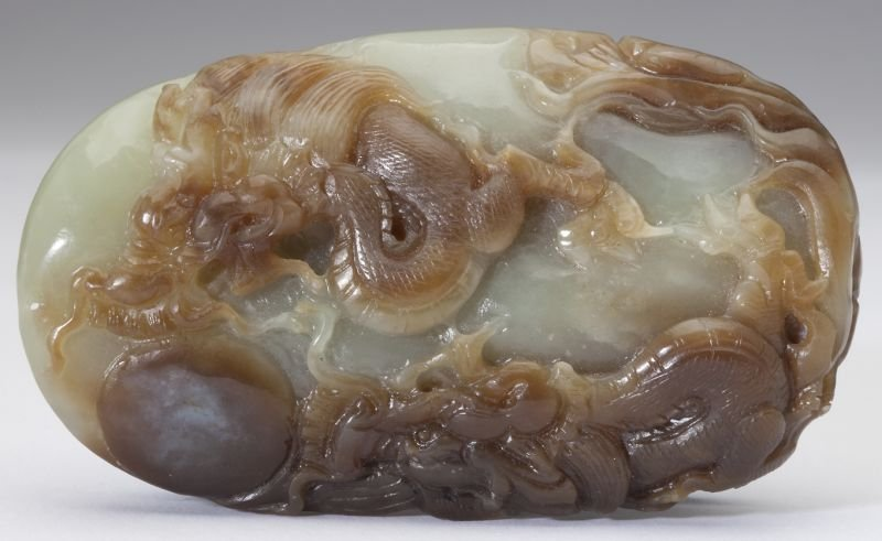 A Finely Carved Chinese Jade Pendant