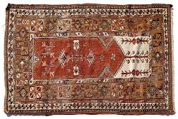 SemiAntique Caucasian Prayer Rug