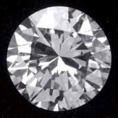 Very Fine Loose Round Diamond