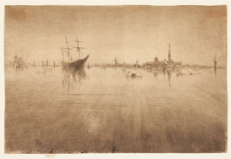 "James McNeill Whistler (1834-1903), ""Nocturne"""