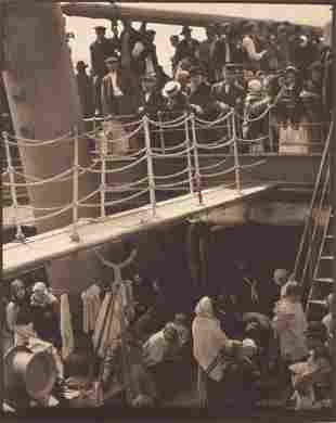 "Alfred Stieglitz (Am., 1864-1946), ""The Steerage"""