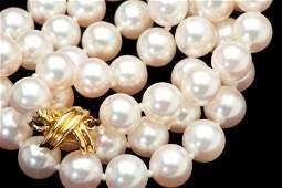 Akoya Pearl Necklace, Tiffany & Co.