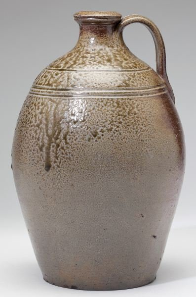 NC Pottery Chester Webster Stoneware Jug - 5