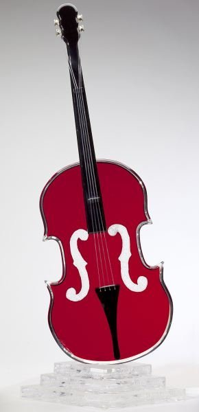 Shlomi Haziza (CA), Acrylic Cello Sculpture