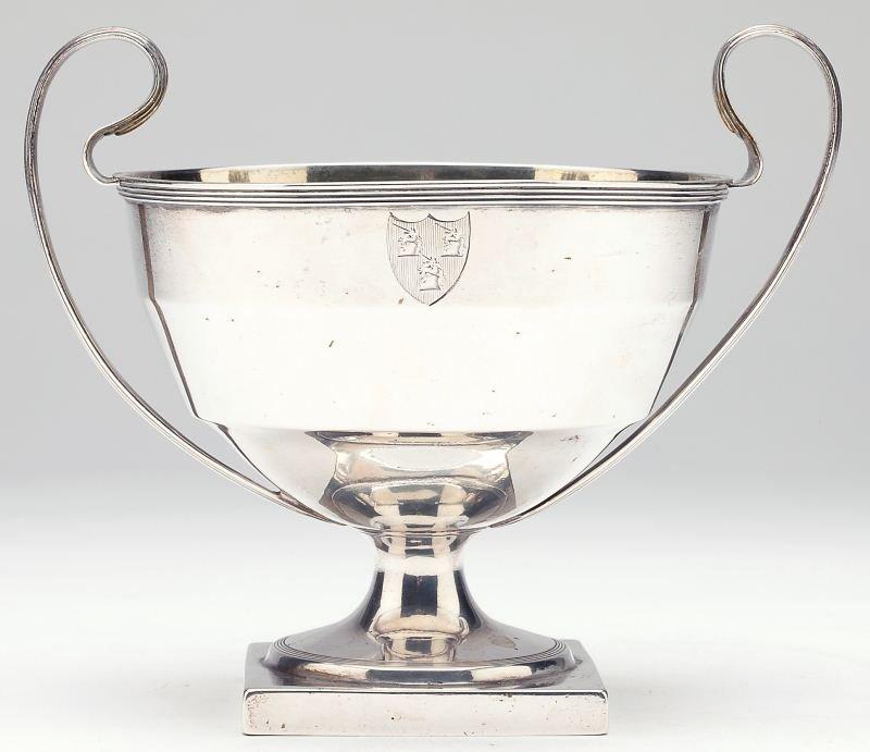 Georgian Parcel Gilt Loving Cup