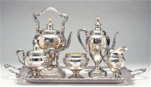 Dominick & Haff Sterling Silver Coffee Service