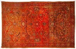 SemiAntique Persian Malayer Area Rug