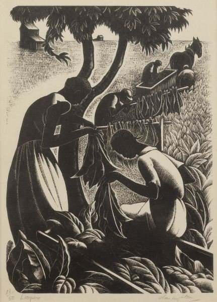 """Clare Leighton (1898-1989), """"Loopers"""""""