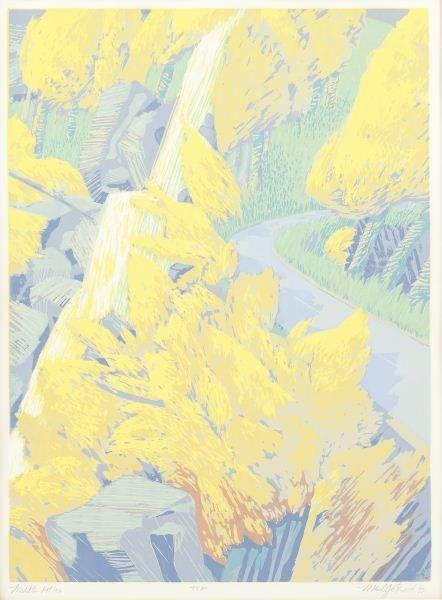 "Maud Gatewood (NC, 1934-2004), ""Middle Atlas"""