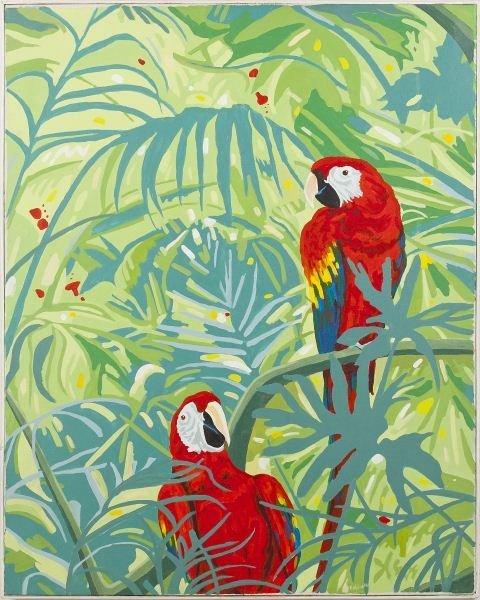 Danny Robinette (NC), Parrots
