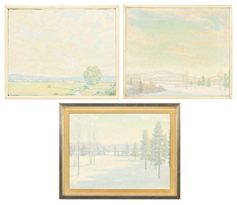 Danny Robinette (NC), Three Landscapes