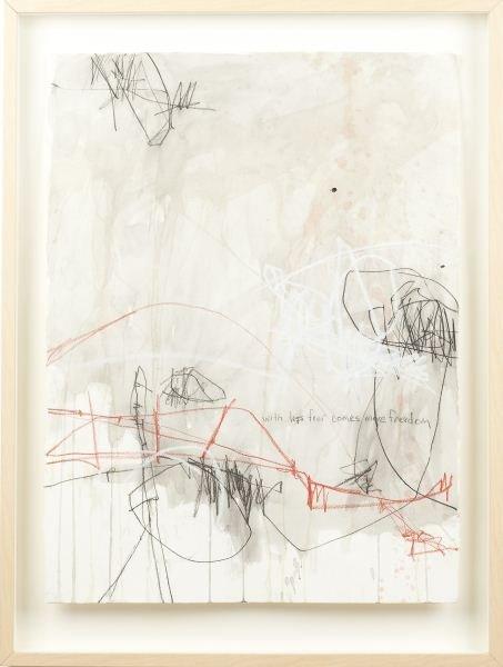 Jason Craighead (NC), Studio Floor Drawing 1