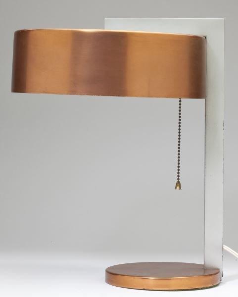 Kurt Versen Modernist Lamp