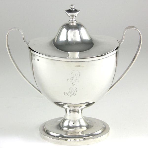 Hester Bateman Silver Sauce Tureen and Cover