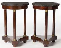 Pair of French Classical Revival Side Stands