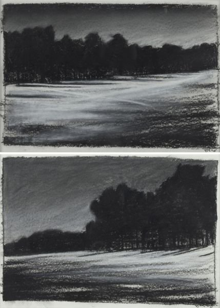 Jacob Cooley (NC), Pair of Landscapes