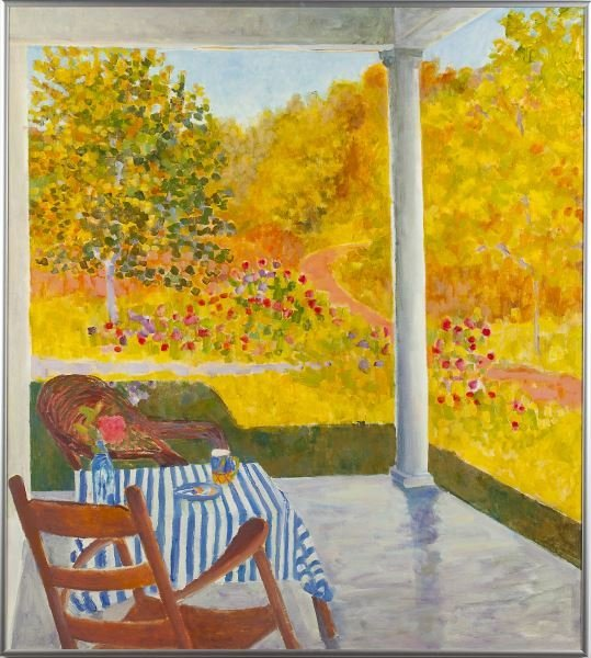 "Kazhia Kolb (MD), ""Afternoon in October"""