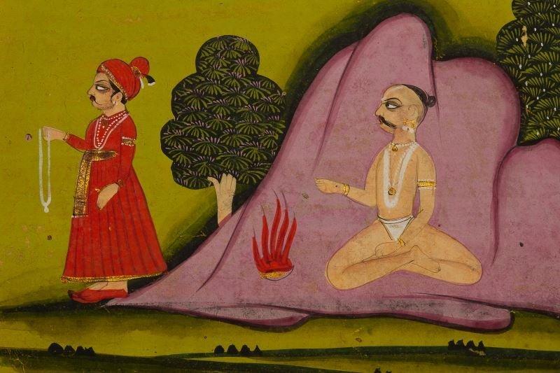 Indian Manuscript Book, Rajasthan, 1780 - 5