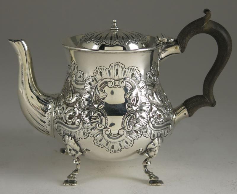 Edwardian Silver Hot Milk Jug