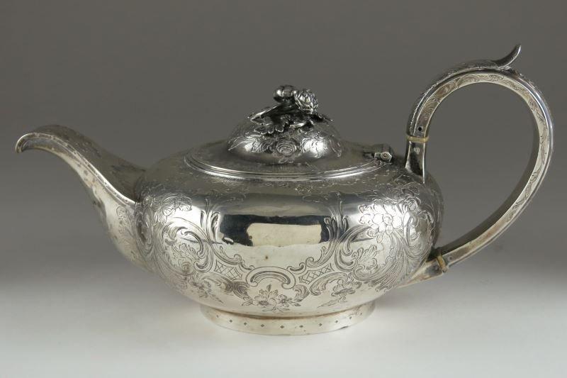 Victorian Sterling Silver Tea Pot
