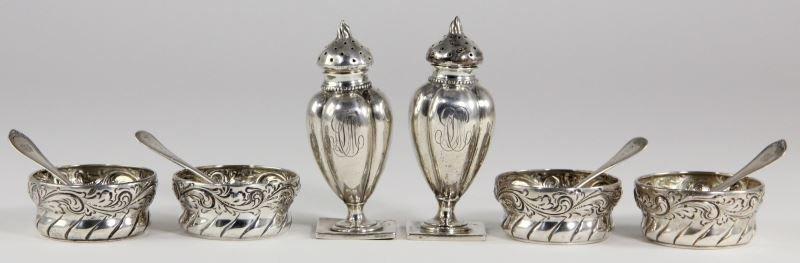 American Sterling Silver Salt & Pepper Set