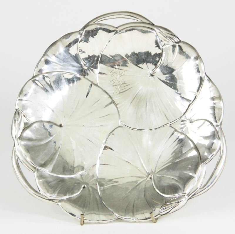 American Sterling Silver Lily Pad Dish