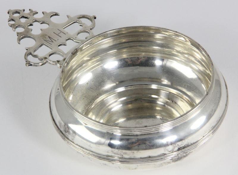 Very Fine American Sterling Silver Porringer
