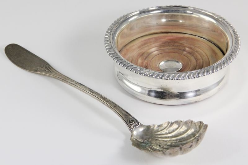 Two Silver Table Articles