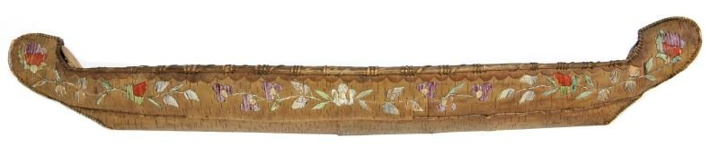 Rare Micmac Indian Model Canoe