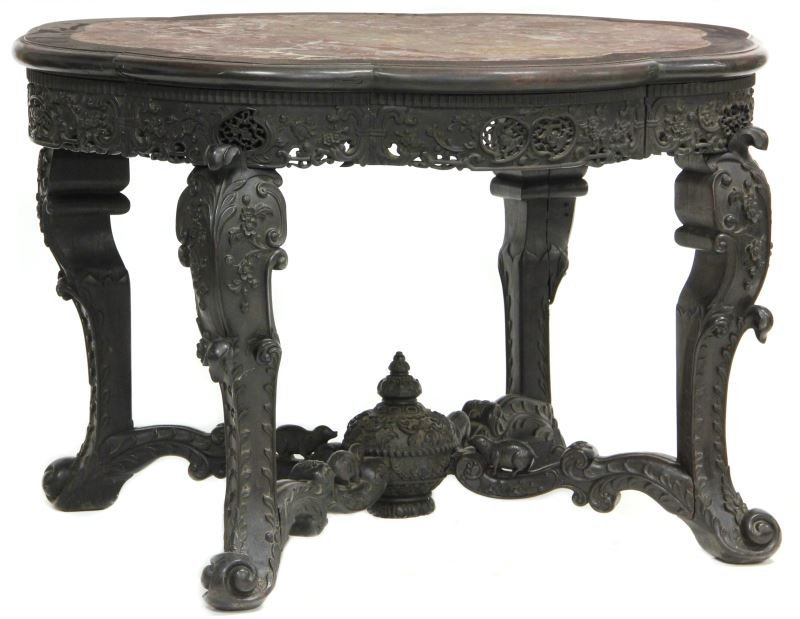 A Fine Carved Chinese Center Table