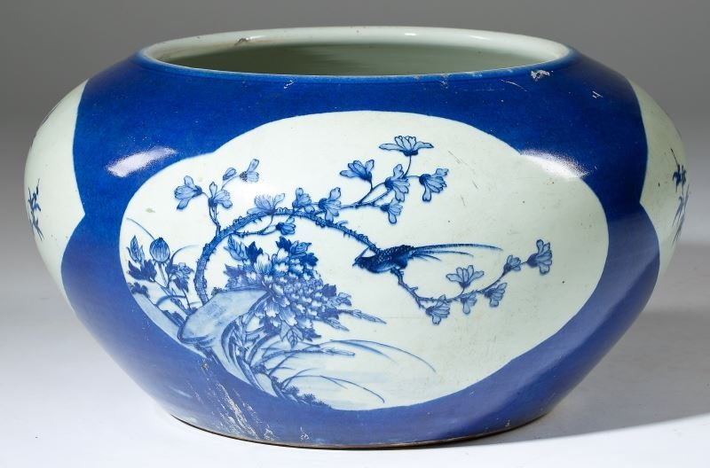 Antique Japanese Fish Bowl