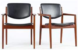 Finn Juhl, Pair of Lounge Chairs