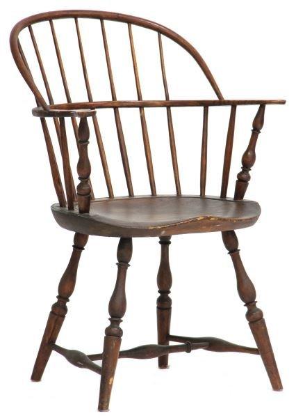American Bowback Windsor Arm Chair