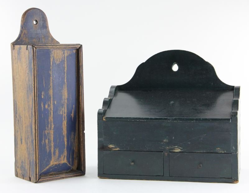 Two American Hanging Boxes