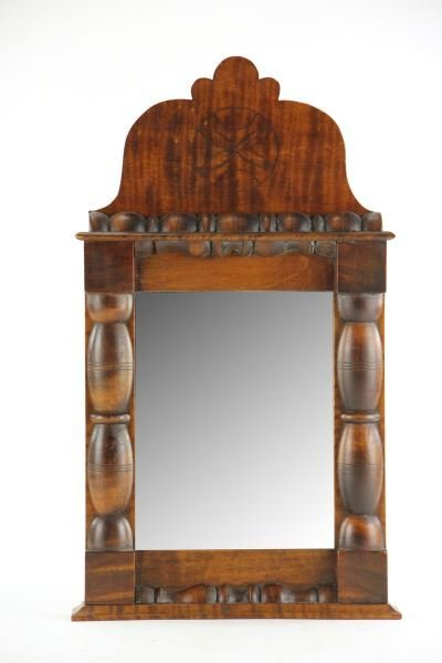 American Tiger Maple Wall Mirror