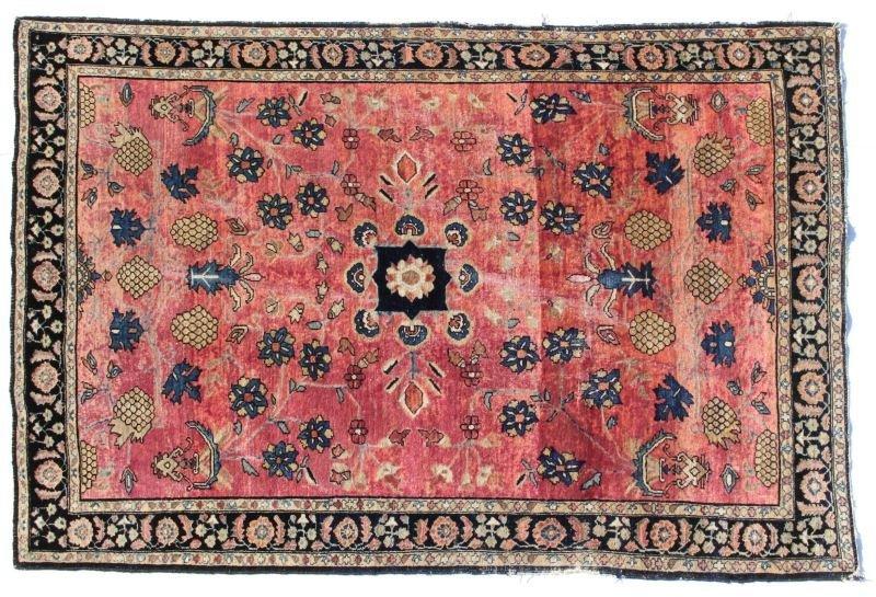 Antique Kermin Area Carpet